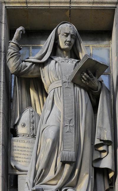 Saint Grégoire de Tours. Victor Thérasse.