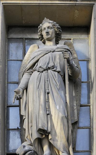 Saint Raphael. Antoine Laurent Dantan.