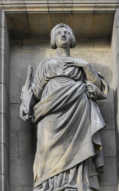 Sainte Agathe. Jean Pierre Dantan.