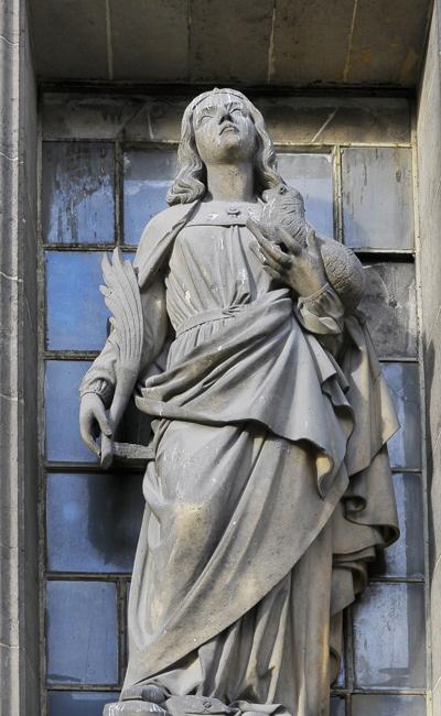 Sainte Agnès. Jean Duseigneur.