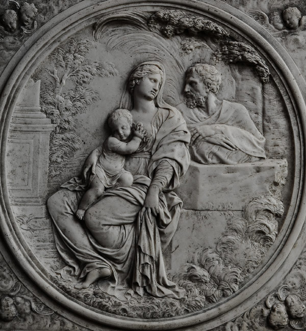 La Sainte famille. Anonyme