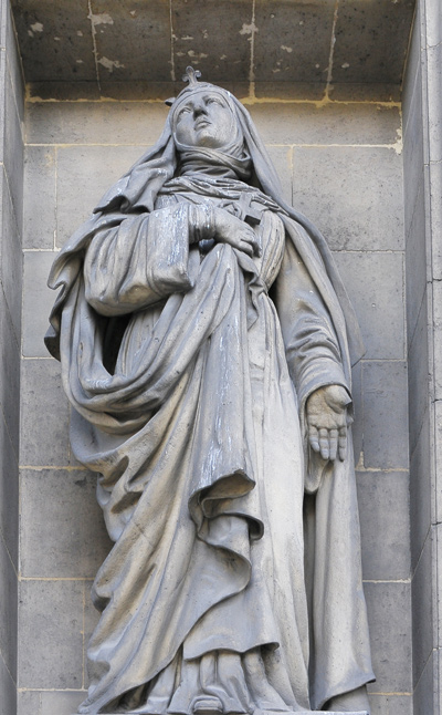 Sainte Jeanne Valois. Guillot.