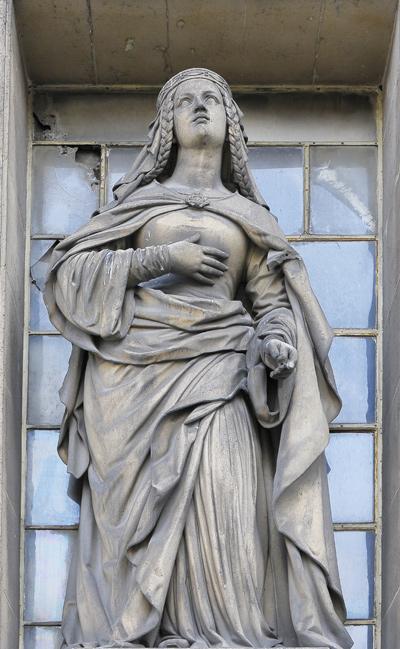 Sainte Marguerite d'Ecosse. François Auguste Caunois