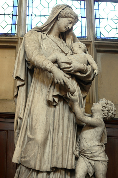 La Vierge et l'Enfant. Anonyme.