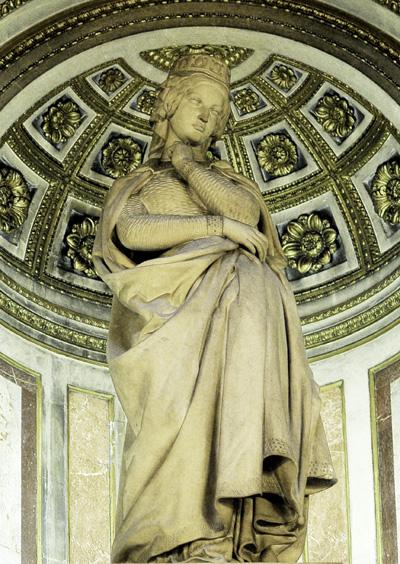 Sainte Clotilde. Antoine Barye.
