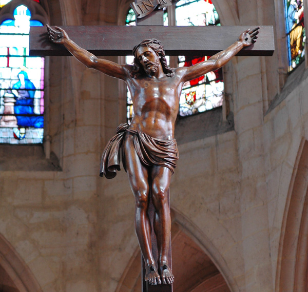 Christ en croix. Pierre 1er Biard.
