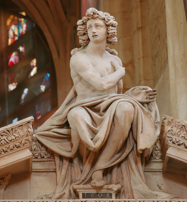 Jeune homme. Pierre 1er Biard.