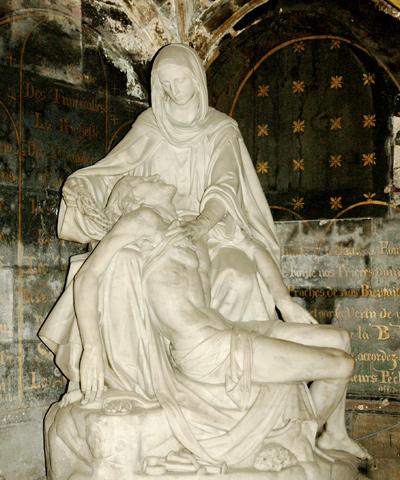 La Piéta. Hippolyte  Bonnardel.