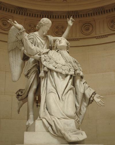 Louis XVI et l'Immortalité. François Joseph Bosio.