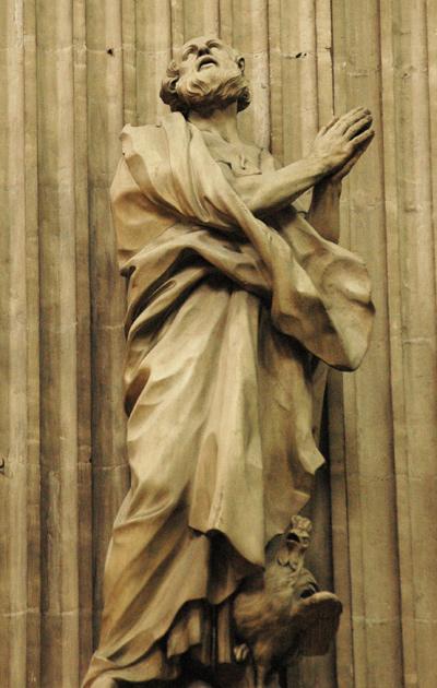 Apôtre. Edme Bouchardon.