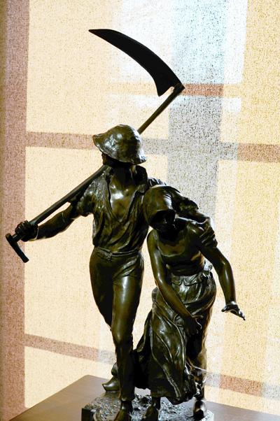 La Bourrasque. Alfred Boucher.