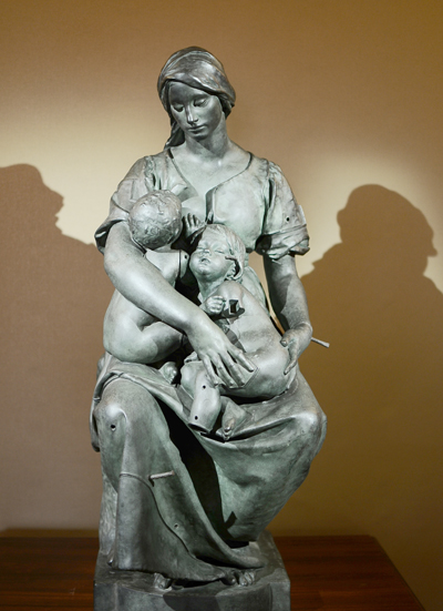 La Charité. Alfred Boucher.