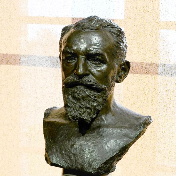 Antonin Dubost. Alfred Boucher.