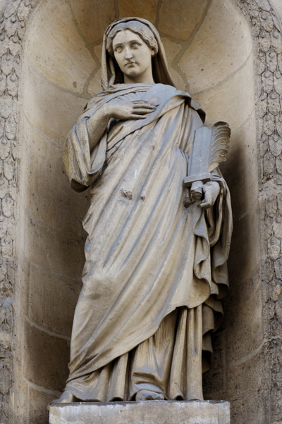 Sainte Eugénie. Anatole Calmels.