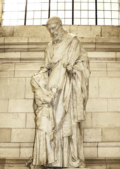 Saint Germain d'Auxerre.  Henri Chapu.