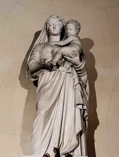 Vierge et l'Enfant. Jean Pierre Cortot.