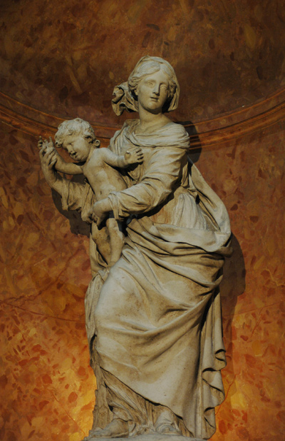 Vierge et l'Enfant. Antoine Coysevox