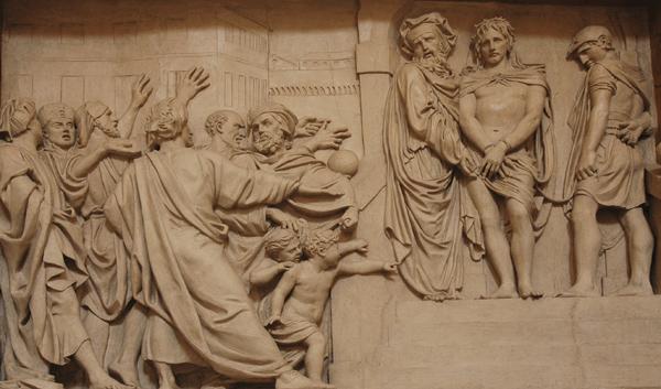 Ecce homo. Jésus présenté au peuple. Constant Delaperche.