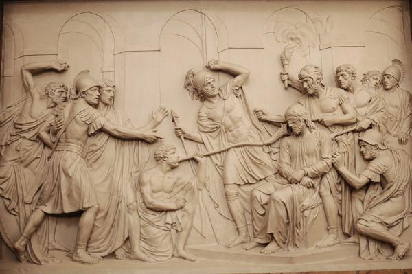 Jésus accablé d'outrages. Louis Pierre Deseine.