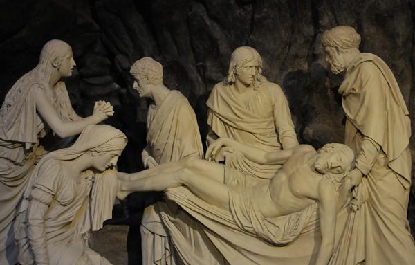 Mise au tombeau. Louis Pierre Deseine