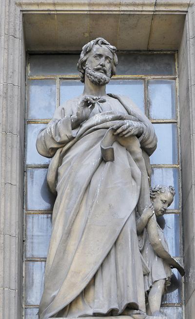 Saint Mathieu. Louis Desprez.