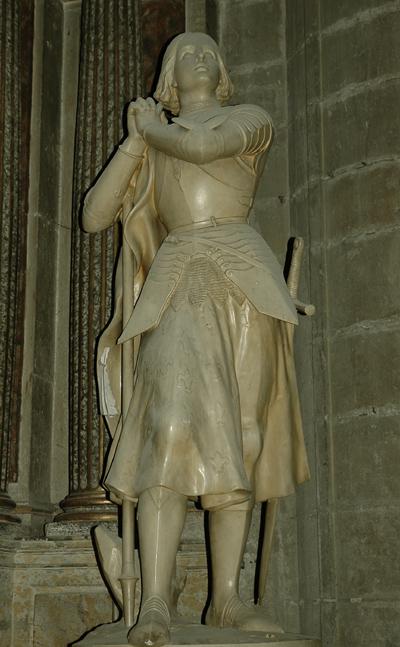 Jeanne d'Arc. Charles Desvergnes.