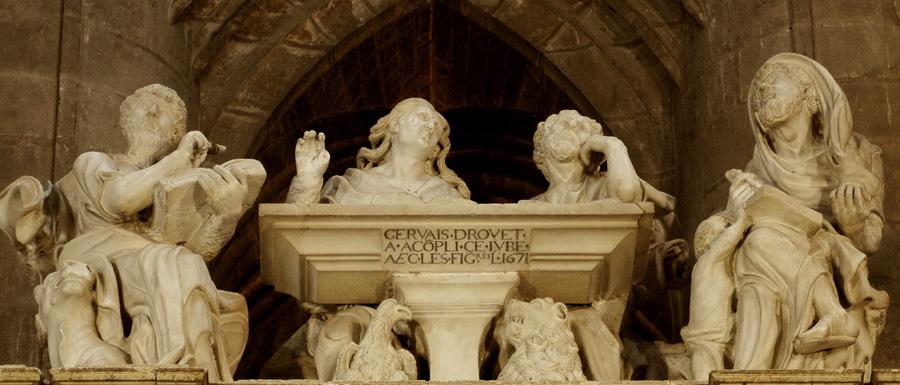 Les Quatre évangélistes. Gervais Drouet.