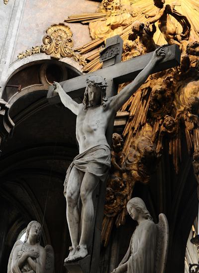 Christ sur la Croix. Jules Charles dubois