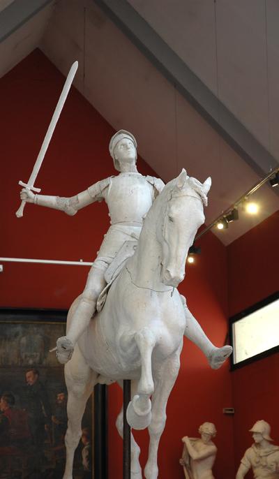 Jeanne d'Arc. Paul Dubois