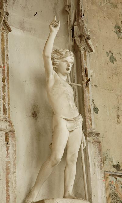 Saint Jean Baptiste enfant. Paul Dubois.