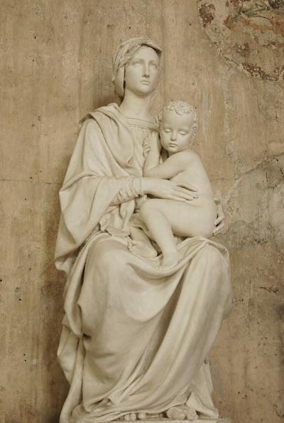 La Vierge et l'Enfant. Paul Dubois