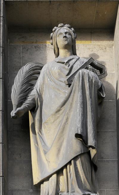 Sainte Cécile. Augustin Dumont.