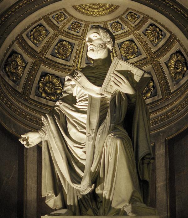 Saint Augustin. Antoine Etex.