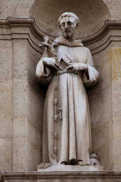 Saint François d'Assise. Joseph Félon