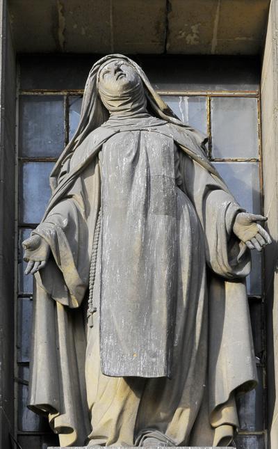 Sainte Thérèse. Jean Jacques Feuchère.