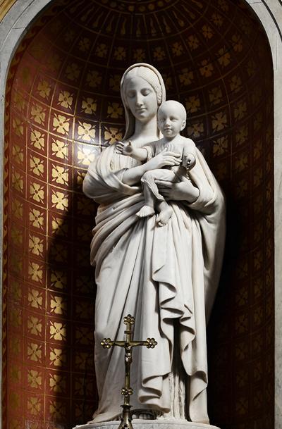 La Vierge et l'Enfant. Denis Foyatier