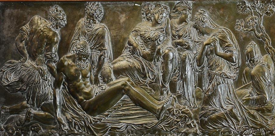 La Déposition de la croix. Anonyme. D'après Jean Goujon.