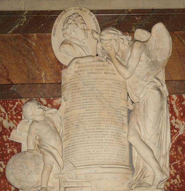 Pierre Louis Moreau de Maupertuis. Jean Baptiste d'Huez.