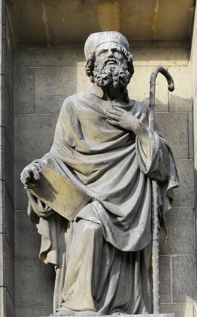 Saint Hilaire. de Poitiers. Jean Pierre Huguenin