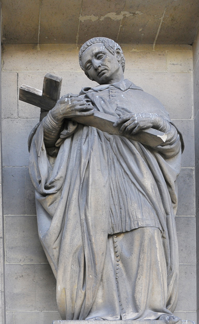 Saint Charles de Borromée. François Jouffroy.