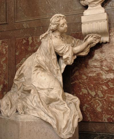 Tombeau Mignard. Comtesse de Feuquières. Jean Baptiste Lemoyne.