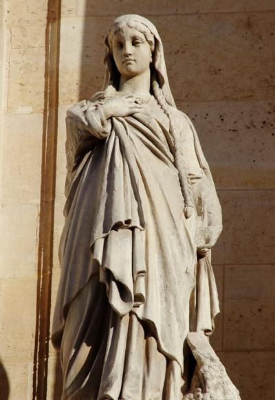 Sainte Clotilde. Pierre Loison.
