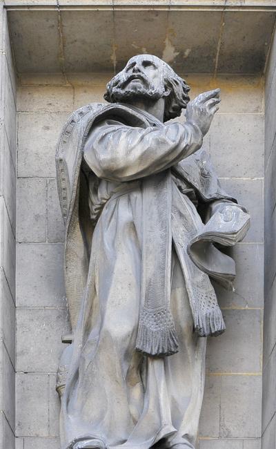 Saint Grégoire de Valois. Hippolyte Maindron.