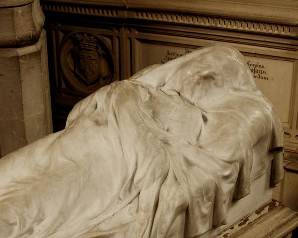 Gisant de Louis d'Orléans. Aimé Millet.