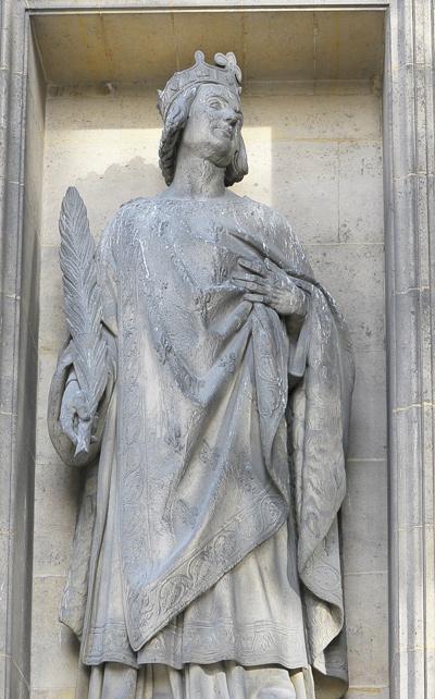 Saint Louis. Charles Nanteuil.