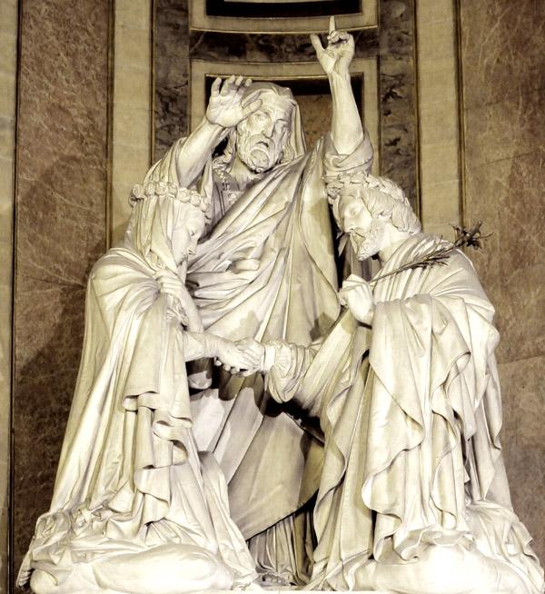 Baptême de la Vierge. James Pradier.