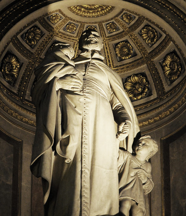 Saint Vincent de Paul. Nicolas Bernard. Raggi.