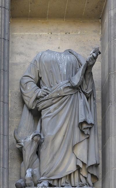 Saint Luc. Etienne Jules Ramey.