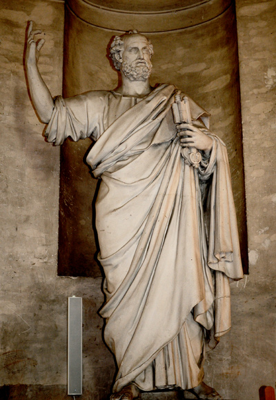 Saint PIerre. Antoine Romagnesi