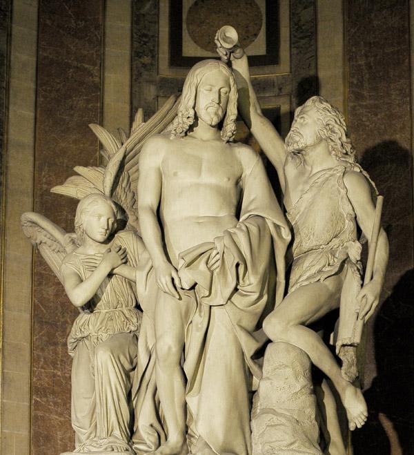 Le Baptême du Christ. François Rude.